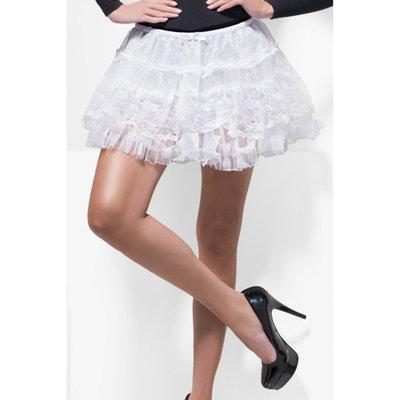 Kanten Petticoat - Wit
