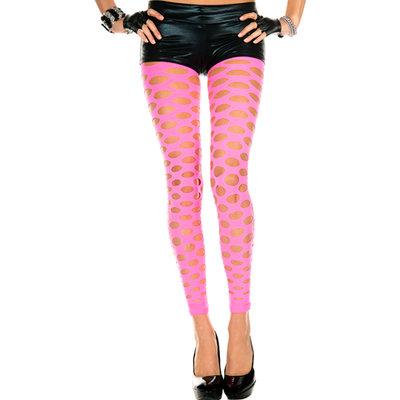 Legging Met gaten - Roze